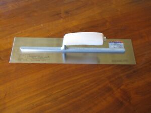 16 X 4 Swedish Stainless Steel Concrete Trowel Made In The Usa