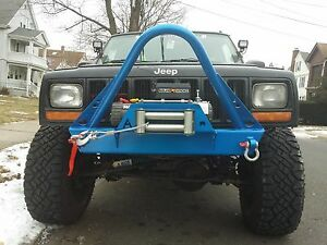 Jeep Xj Shorty Winch Stinger Front Bumper