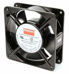 Dayton Axial Fan 115 Volts Ac 10 Watts 75 Cfm Model 3le77