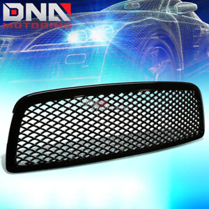For 09 12 Dodge Ram 1500 Ds Dj Sports Mesh Front Hood Bumper Grill Grille Guard