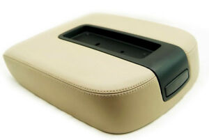 Console Armrest Real Leather For Chevy Tahoe Suburban Escalade 07 13 Beige