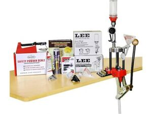 Lee 4 Hole Turret Press with Auto Index Deluxe Kit - DIGITAL CALIPERS INCLUDED