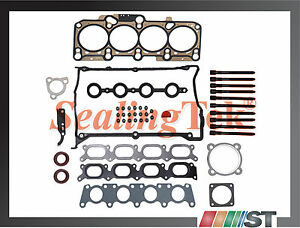 99 06 Audi Vw 1 8t Turbo Cylinder Head Gasket Set Bolts Kit Aph Awm Engine Motor