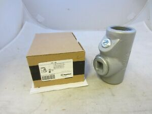 Appleton Eyf150 1 1 2 Explosion Proof Seal Off Eys Crouse Hinds same Day Ship
