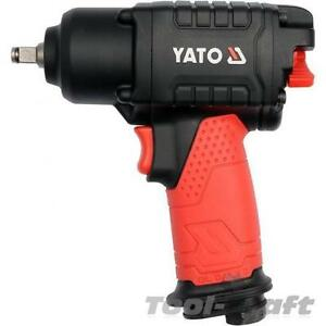 Yato Professional Heavy Duty 3 8 Twin Hammer Air Impact Wrench 400 Nm Yt09501