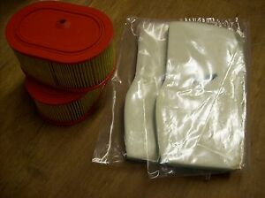 2 Air Filter Sets For Partner K950 Cutoff Saw K950 Chain Saw Or K950 Ring Saw