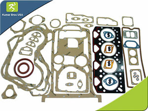 Massey Ferguson perkins 1004 40t Turbocharged Engine cat Jcb Full Gasket