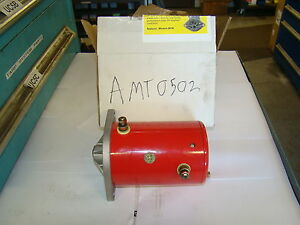 National Liftgate Parts Amt0502 Snow Plow Motor Western Snowplow Oem 25209