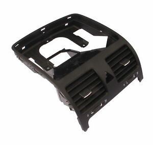 Oe Dash Central Air Outlet Vent Black Front For Vw Golf Gti Jetta Rabbit Mk5