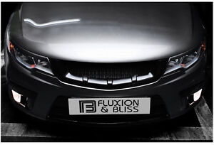 New Sports Radiator Front Grill For 09 12 Kia Forte Cerato Koup