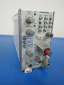 Tektronix Delaying Time Base 7b85 Plug in Module