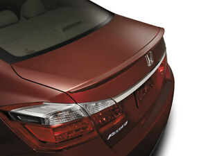 5353m Painted Factory Style Lip Spoiler Fits The 2013 2017 Honda Accord 4dr
