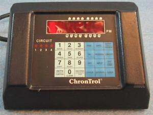 Chrontrol Xt 4sf Table Top Programmable Timer 6