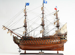 Royal Louis E E 37 Handcrafted Wooden Model Ship T059