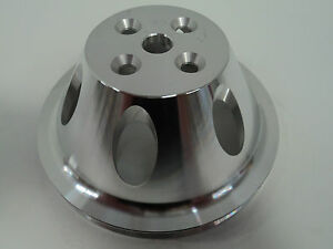 Bb Chevy Aluminum Water Pump Pulley 1 Groove Swp Short Water Pump Bbc 396 454