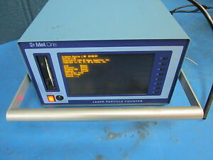 Metone Laser Particle Counter Model A2320 2 115 2080217 1 powers On W Software