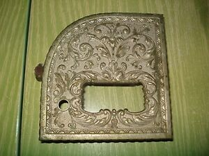 National Cash Register Part Printer Door Brass Nickel Renaissance Ncr Cover