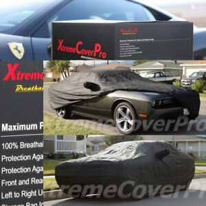 Custom Fit Car Cover For 2013 2014 Dodge Challenger Breathable Black