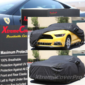 2014 Ford Mustang Coupe Breathable Car Cover W Mirror Pocket