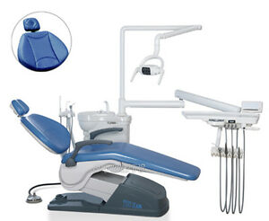 Computer Controlled Dental Chair Unit A1 Soft Leather For Dentist 110v 220v Pt