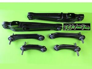 New Mirage 1993 2002 Rear Suspension Rebuild Kit Control Arm 6pcs