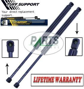 2 Rear Window Back Glass Lift Supports Shocks Struts Arms Props Rods Damper