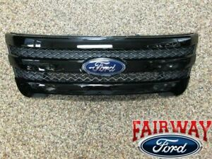 11 Thru 15 Explorer Sport Oem Genuine Ford Parts Black Painted Grille Grill New