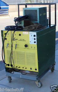 Linde Ucc 305 Tig Spot Welder With Fc 3 And Wc5 Cooling Pump