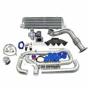 Cxracing Turbo Kit For 1996 2000 Honda Civic Ek B16 B18 B20 B Series Engine