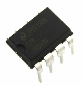 National Semiconductor Lm308n Operational Amplifier