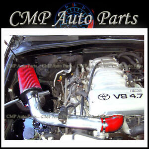 Red Toyota Tundra Sequoia 4 7 4 7l Air Intake Kit Systems 2000 2004