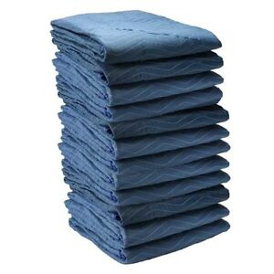 Economy Moving Blankets 12 Pads Utility Moving Pads 72 X 80 35 Lbs dozen