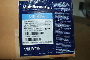 Millipore Multiscreen Filter Filtration 384 Well Plates Manifold Membrane Hts