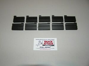 10 Vendo 511 720 Soda Vending Machine bottle Gauge Bar Clips black