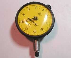 Federal Model P31 Dial Indicator Gauge 005mm Increment 2 Face Used