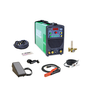 Powertig185 Gtaw 185amp Acdc Dual Voltage Tig Stick Welder Everlast W pedal 180