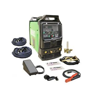 Powertig 255ext Gtaw p 250amp Acdc Tig Stick Advance Pulse Welder By Everlast