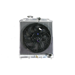 Cxracing Aluminum Radiator 12 Fan For 94 01 Acura Integra Mt Half Size