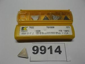 10 Pcs Tpg 322 K313 Kennametal Carbide Inserts