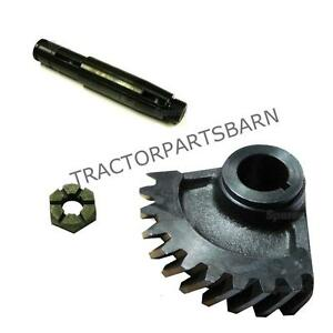 Ih Farmall 140 New Steering Worm Gear Shaft Nut 70889c1 70890c1