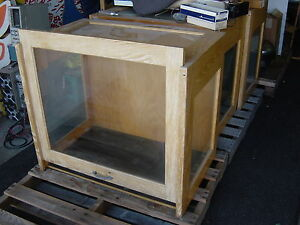 Antique High School Science Display Case