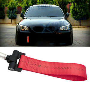 Red Racing Tow Strap Hook For Bmw Exx 1 3 5 6 x5 x6 Z3 Z4 Series
