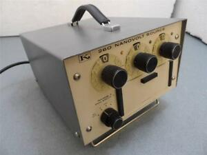 Keithley Instruments 260 Nanovolt Source
