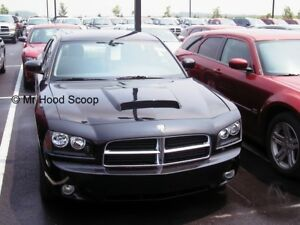 2006 2010 Hood Scoop For Dodge Charger By Mrhoodscoop Painted Hs009