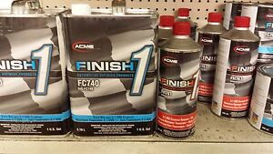 1 Gallon Kit Finish 1 Clear Coat Finish1 Fc740 And Fh741 Fast Hardener