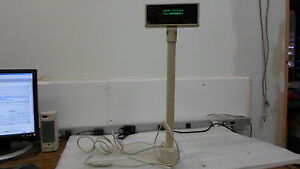 Logic Controls Pdx1 812 10569 Pos White Pole Display Tested