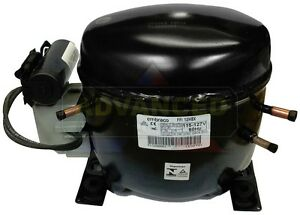 New Embraco Ffi12hbx h High Temp Compressor 1 3 Hp R134a One year Warranty