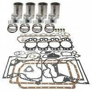 Case Basic Engine Overhaul Kit For 300 300b 400b Gas 148cid