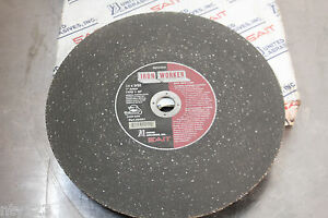 Box Of 7 Abrasives Ironworker Type 1 Chop Saw Wheels 14 X 3 32 X 1 Metal