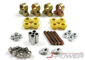 Fit 88 91 Civic Crx 90 93 Integra Camber Kit Front Rear Set